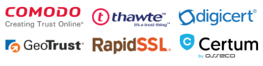 allthe.domains trusted SSL certificates partners